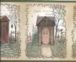 Countryside Easy Walls Border Outhouses Border CTR50321B By Chesapeake For Brewster Fine Decor